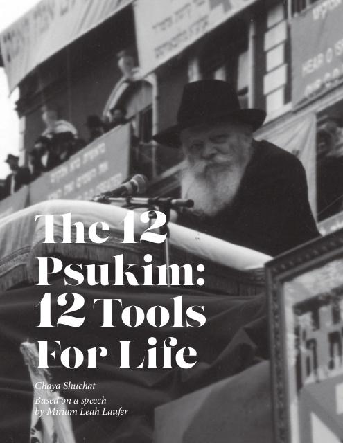 12 Psukim