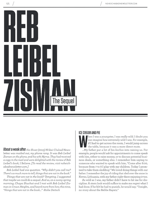 Zisman, Part 2